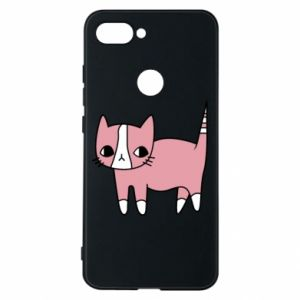 Phone case for Xiaomi Mi8 Lite Cat with leaves