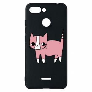 Phone case for Xiaomi Redmi 6 Cat with leaves