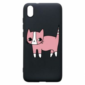 Phone case for Xiaomi Redmi 7A Cat with leaves