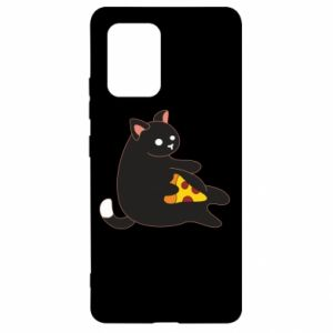 Etui na Samsung S10 Lite Cat with pizza
