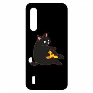 Etui na Xiaomi Mi9 Lite Cat with pizza