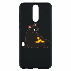 Phone case for Huawei Mate 10 Lite Cat with pizza