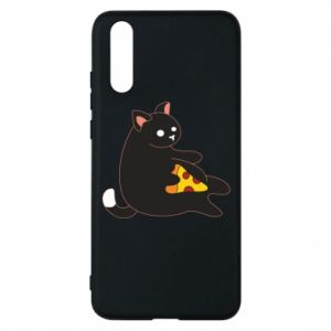 Phone case for Huawei P20 Cat with pizza