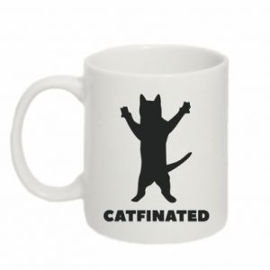 Kubek 330ml Catfinated - PrintSalon