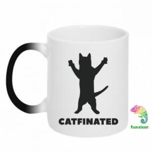 Kubek-kameleon Catfinated - PrintSalon