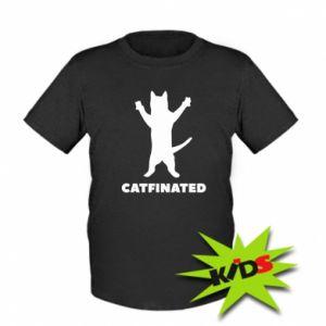 Dziecięcy T-shirt Catfinated