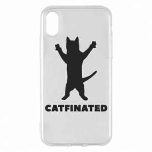 Phone case for iPhone X/Xs Catfinated