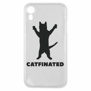 Phone case for iPhone XR Catfinated