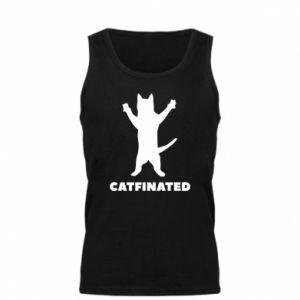Męska koszulka Catfinated - PrintSalon