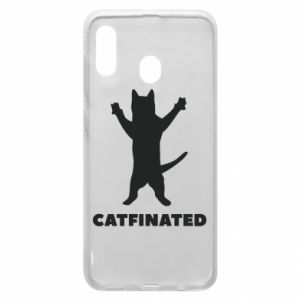 Phone case for Samsung A20 Catfinated