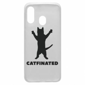 Phone case for Samsung A40 Catfinated