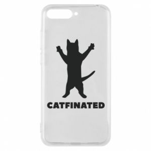 Phone case for Huawei Y6 2018 Catfinated