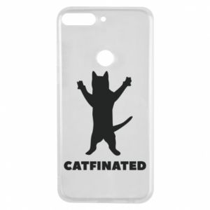 Phone case for Huawei Y7 Prime 2018 Catfinated