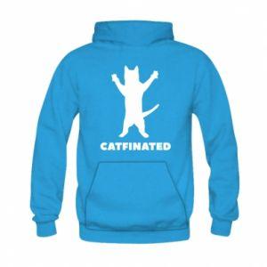 Bluza z kapturem dziecięca Catfinated