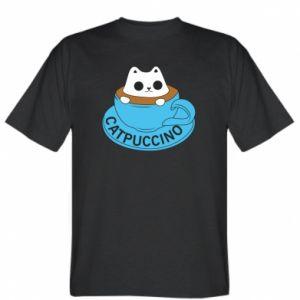 Koszulka męska Catpuccino