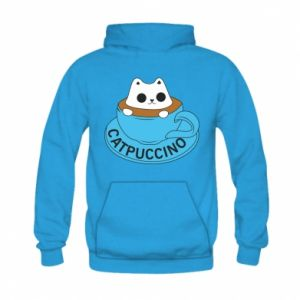 Bluza z kapturem dziecięca Catpuccino