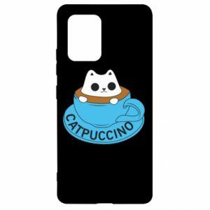 Etui na Samsung S10 Lite Catpuccino