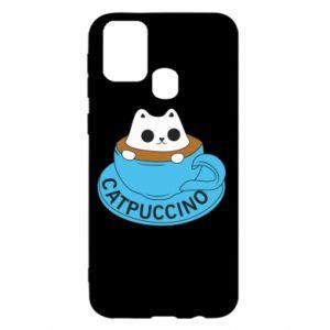 Etui na Samsung M31 Catpuccino