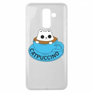 Etui na Samsung J8 2018 Catpuccino