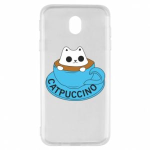 Etui na Samsung J7 2017 Catpuccino
