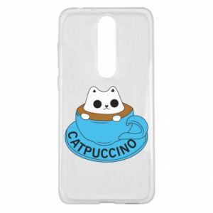 Etui na Nokia 5.1 Plus Catpuccino
