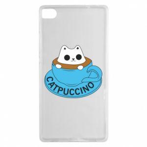 Etui na Huawei P8 Catpuccino