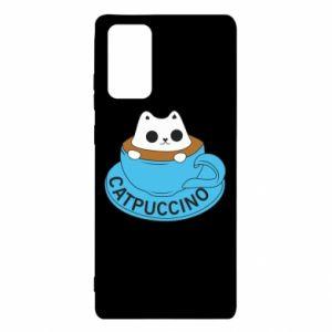 Etui na Samsung Note 20 Catpuccino