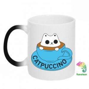 Kubek-magiczny Catpuccino