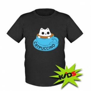 Koszulka dziecięca Catpuccino