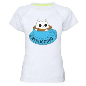 Koszulka sportowa damska Catpuccino