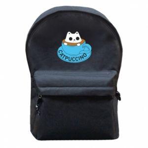 Plecak z przednią kieszenią Catpuccino