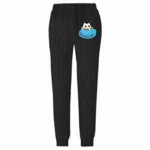 Spodnie lekkie męskie Catpuccino
