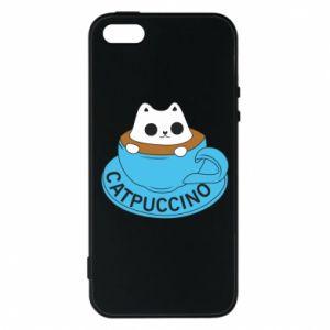 Etui na iPhone 5/5S/SE Catpuccino