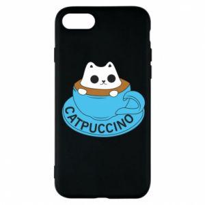Etui na iPhone 8 Catpuccino