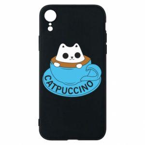 Etui na iPhone XR Catpuccino