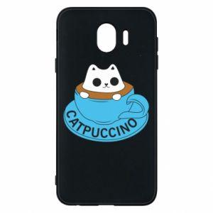 Etui na Samsung J4 Catpuccino