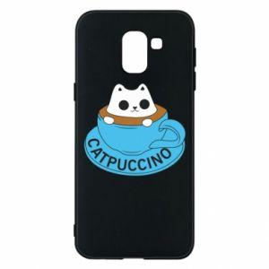 Etui na Samsung J6 Catpuccino