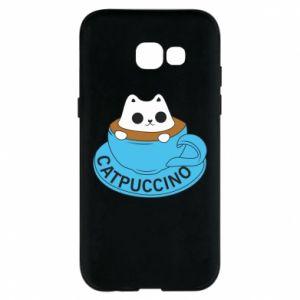 Etui na Samsung A5 2017 Catpuccino