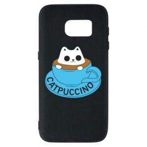 Etui na Samsung S7 Catpuccino