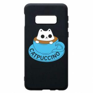 Etui na Samsung S10e Catpuccino