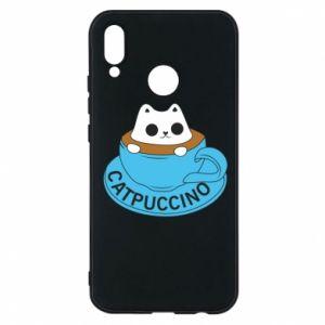 Etui na Huawei P20 Lite Catpuccino