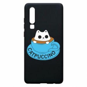 Etui na Huawei P30 Catpuccino