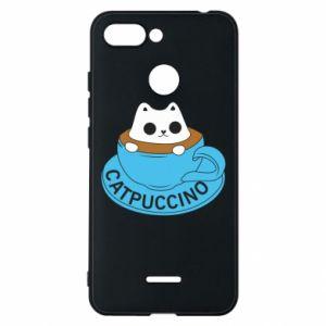 Etui na Xiaomi Redmi 6 Catpuccino
