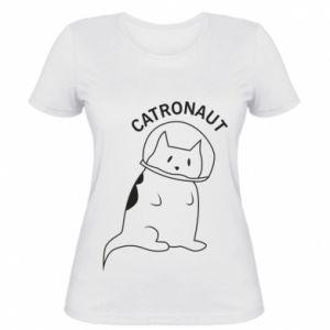 Women's t-shirt Catronaut