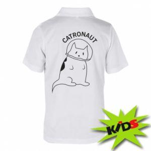 Dziecięca koszulka polo Catronaut