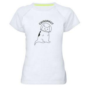 Damska koszulka sportowa Catronaut