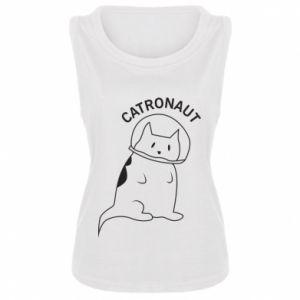 Damska koszulka bez rękawów Catronaut
