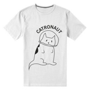 Men's premium t-shirt Catronaut