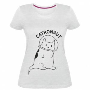 Damska premium koszulka Catronaut