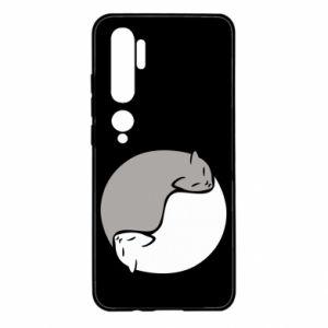 Etui na Xiaomi Mi Note 10 Cats love black and white
